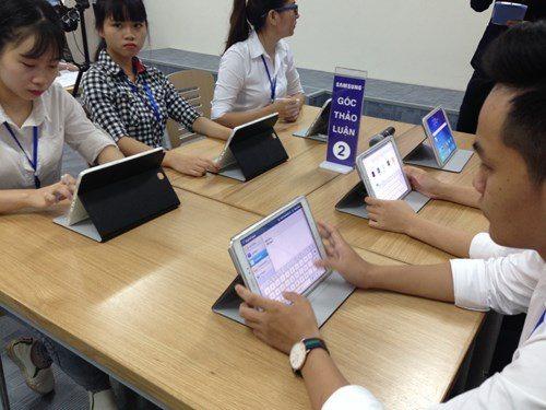 Samsung Smart School ứng dụng thiết bị giảng dạy Y - Dược