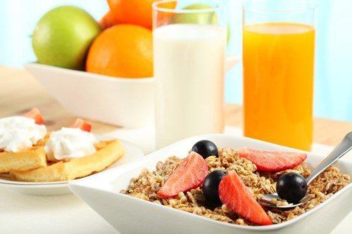 Giảm khẩu phần ăn bữa sáng giúp giảm cân nhanh nhất