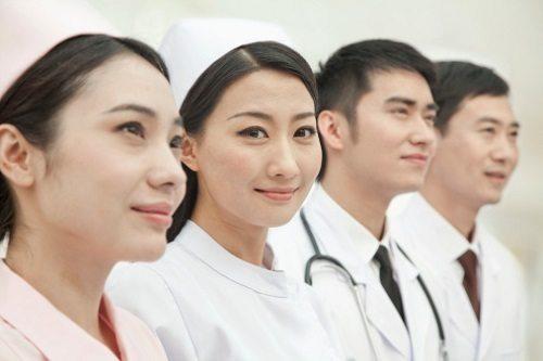 cô gái ngành y