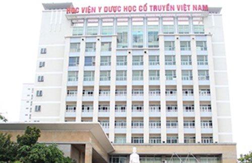Học viện Y Dược học cổ truyền Việt Nam có những ngành nào