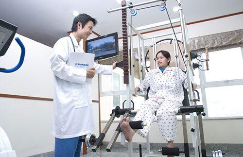 Vật lí trị liệu là ngành học được nhiều người theo học