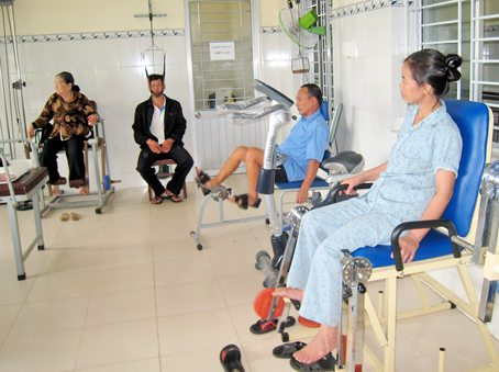Vật lý trị liệu điều trị thoát vị đĩa đệm