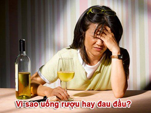 Vì sao uống nhiều rượu thường hay đau đầu