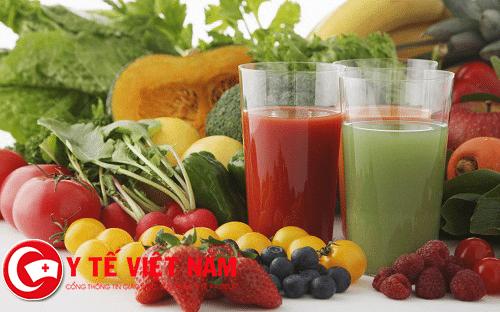 Bệnh suy tim nên ăn nhiều rau, củ, quả.