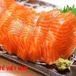 Bệnh ung thư da nên ăn cá hồi.