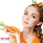 Mặt nạ dưỡng da từ cà rốt