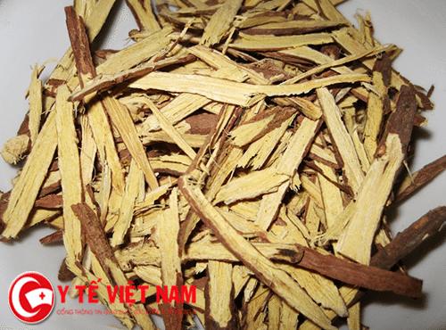 Cam thảo vị thảo dược chữa bệnh lao phổi.