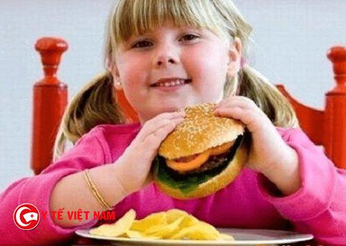 Béo phì do việc ăn uống quá nhiều