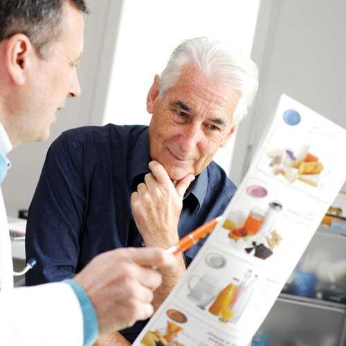 Cần chú ý lựa chọn thực phẩm đối với người cao huyết áp