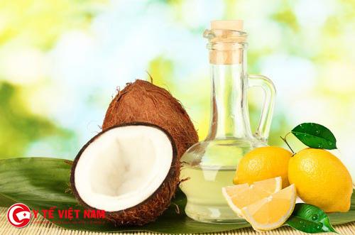 Công thức làm đẹp từ dầu dừa và nước cốt chanh