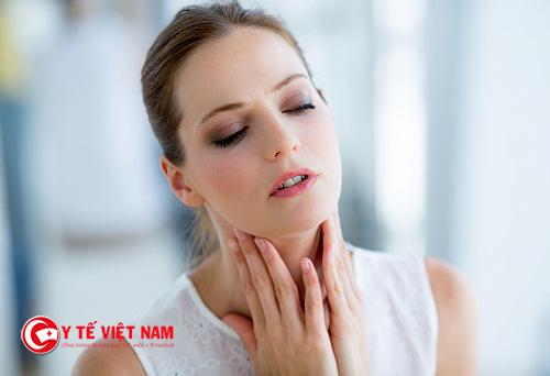 Bệnh đau họng do nhiều nguyên nhân gây ra
