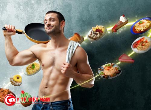 Chế độ dinh dưỡng hợp lý giúp nam giới giảm cân hiệu quả