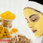 Nước mía và bột nghệ giảm nếp nhăn hiệu quả