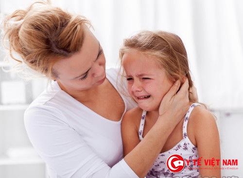 Viêm tai giữa xung huyết có thể làm trẻ giảm thính lực