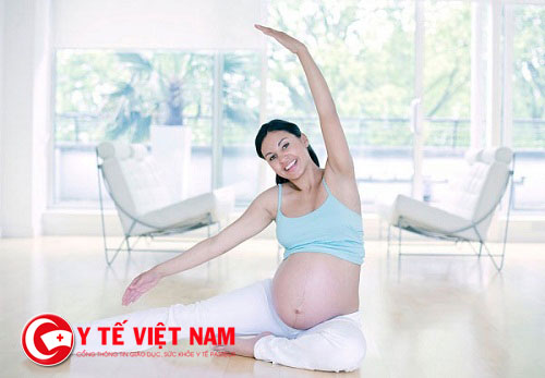 Thường xuyên tập thể dục sẽ có tác dụng nâng cao sức đề kháng cho cơ thể cho bà bầu