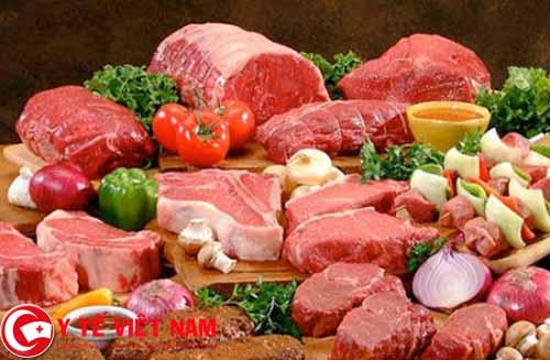 Người bị ung thư gan không nên ăn thịt đỏ