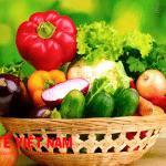 Bệnh sỏi thận nên ăn nhiều rau, củ, quả.