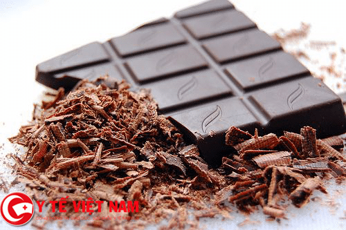 socola tốt cho người bệnh ung thư da.
