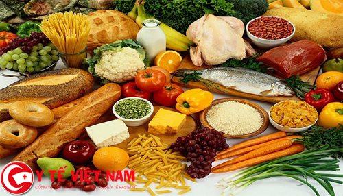 Phòng ngừa bằng cách xây dựng chế độ dinh dưỡng
