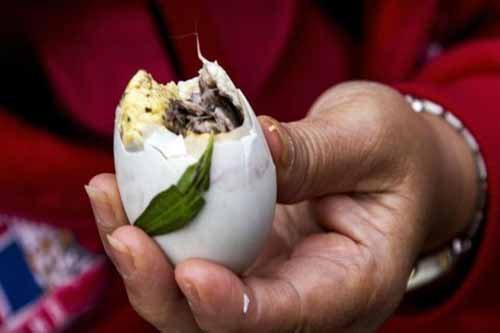 Trứng vị lộn rất bổ dưỡng, song nên được ăn theo mức độ thích hợp với trẻ
