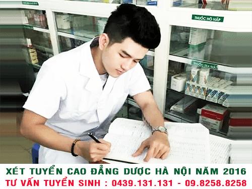 Xét tuyển cao đẳng y dược Hà Nội