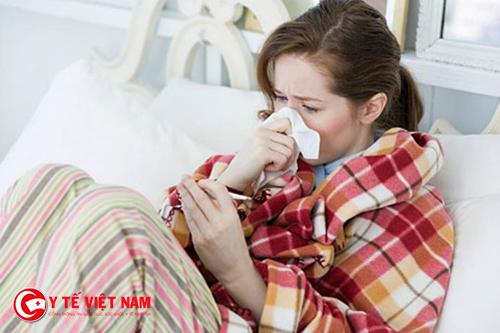 Viêm đường hô hấp trên hay gặp khi thời tiết giao mùa