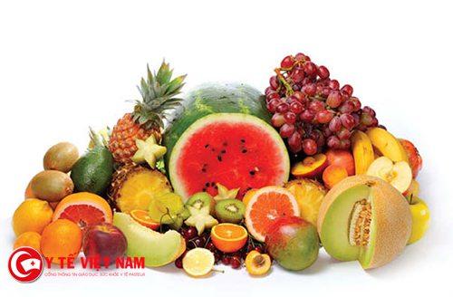 Bổ sung đẩy đủ các loại trái cây mỗi ngày