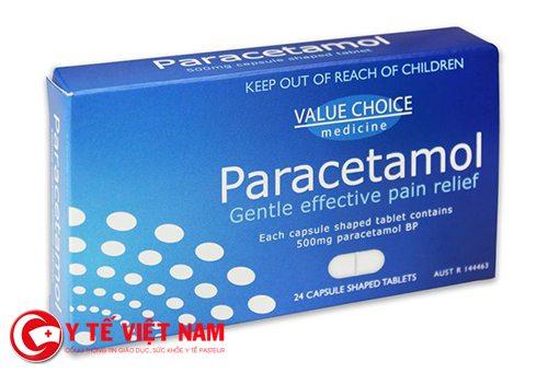 Paracetamol có tác dụng làm giảm đau và hạ sốt