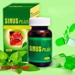 Thuốc Sinus Plus hỗ trợ điều trị bệnh viêm xoang mạn tính