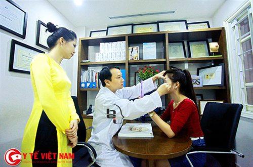 Viện thẩm mỹ Hà Nội địa chỉ độn cằm uy tín cho kháng hàng