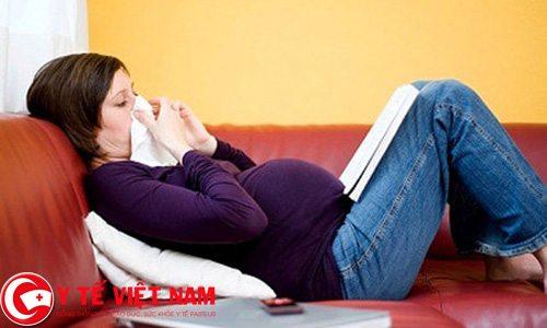 Bệnh cảm lạnh ít nhiều có ảnh hưởng đến thai nhi