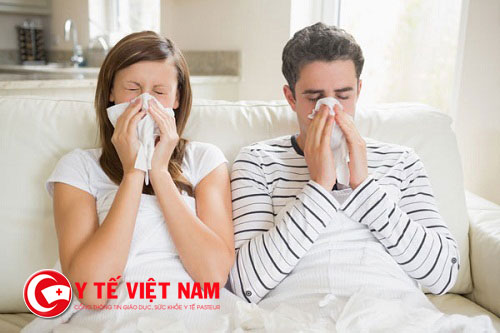 Bệnh viêm xoang là một trong những biến chứng của bệnh viêm mũi dị ứng