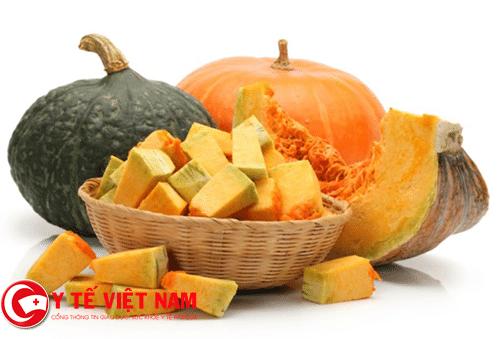 Bí đỏ thực phẩm vàng dành cho bệnh suy nhược thần kinh