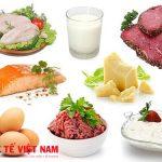 Người bị ung thư máu nên ăn nhiều thực phẩm giàu protein
