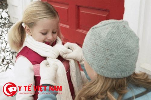 Giữ ấm cơ thể ngăn ngừa bỏng lạnh
