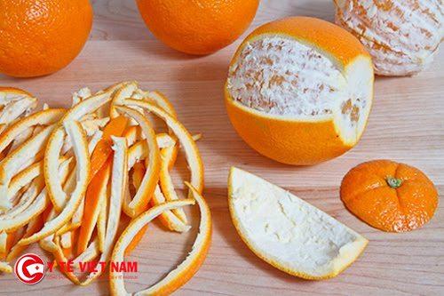 Hãy tận dụng tất cả kể cả vỏ cam để làm đẹp da mặt