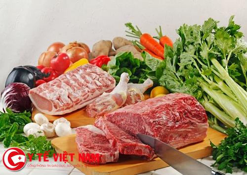 """Nếu bạn không biết """"Cận thị nên ăn gì?"""" thì thịt bò và rau xanh là câu trả lời."""
