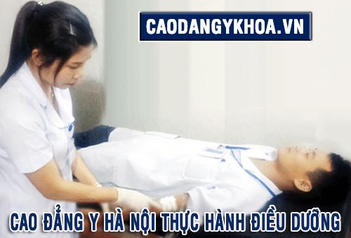 Thực hành Điều dưỡng tại Cao đẳng Y Hà Nội