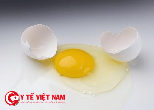 Lòng trắng trứng chữa bỏng hiệu quả