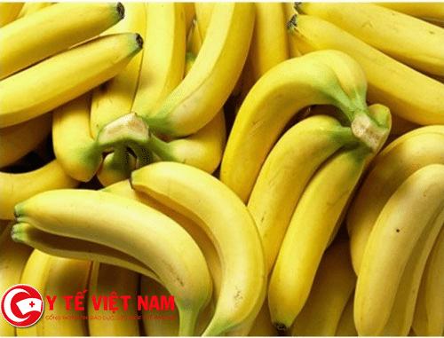 Chuối thực phẩm vàng dành cho bệnh đau thần kinh tọa
