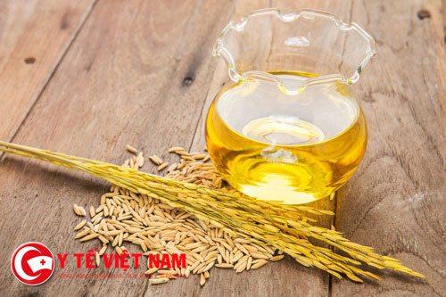 Dầu gạo lại có mầu vàng sẫm