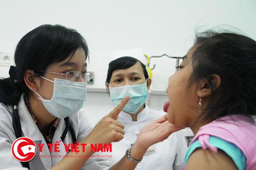 Cách điều trị viêm amidan ở trẻ em