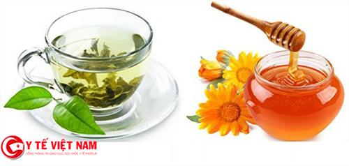 Mặt nạ trà xanh, mật ong làm sáng da vòng 3 như ý muốn