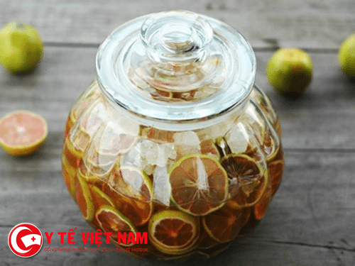Ngâm chanh mật ong
