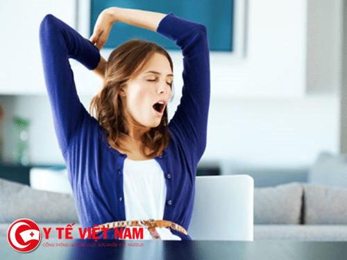 Ngáp cho thấy cơ thể bạn bị suy nhược
