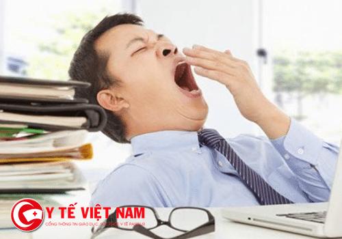 Dấu hiệu bệnh từ ngáp