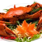 Người bị bệnh chàm nên kiêng ăn hải sản.