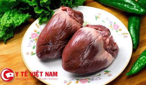 Người bệnh thấp tim nên ăn tim lơn