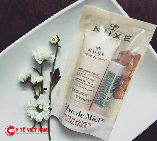 Dược mỹ phẩm Nuxe phù hợp với làn da nhạy cảm