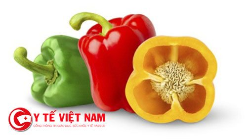 Ớt chuông cung cấp nhiều vitamin C và A cho cơ thể